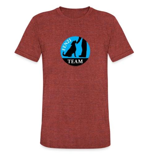 FENZITEAM Logo W - NOT FOR BLACK - Unisex Tri-Blend T-Shirt
