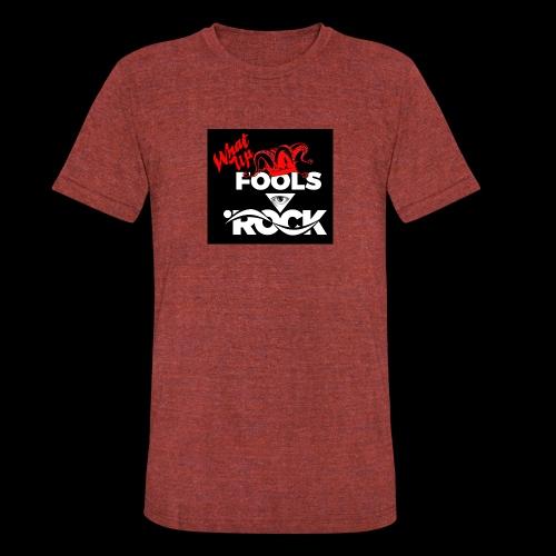 Fool design - Unisex Tri-Blend T-Shirt