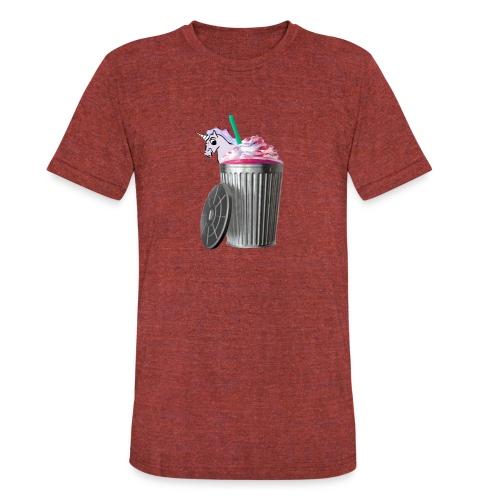 trash brigade unicorn - Unisex Tri-Blend T-Shirt