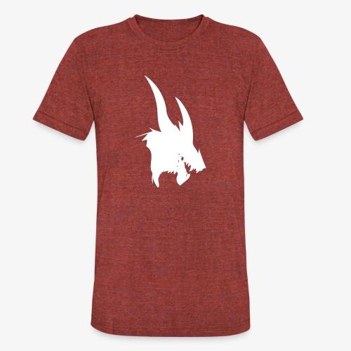 dragon sil - Unisex Tri-Blend T-Shirt