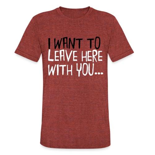 LHWY1 Shirt png - Unisex Tri-Blend T-Shirt