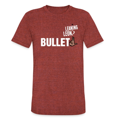 bullletgray2 - Unisex Tri-Blend T-Shirt