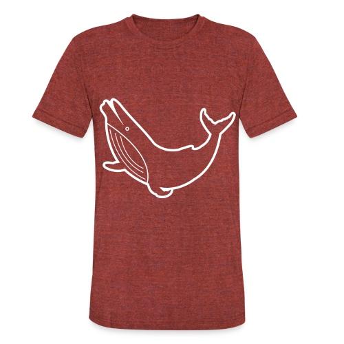 Whale - Unisex Tri-Blend T-Shirt