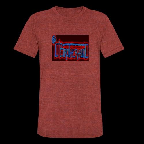 The D'BroTHerHooD Logo - Unisex Tri-Blend T-Shirt