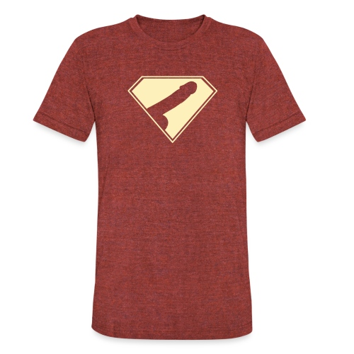 Supercock 1 - Unisex Tri-Blend T-Shirt