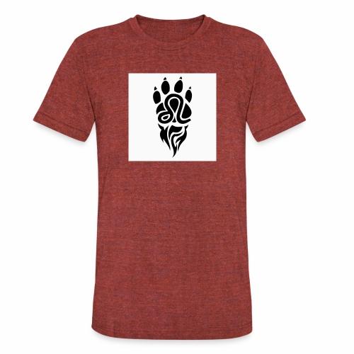 Black Leo Zodiac Sign - Unisex Tri-Blend T-Shirt