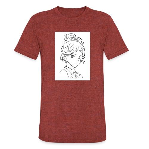 Girl - Unisex Tri-Blend T-Shirt