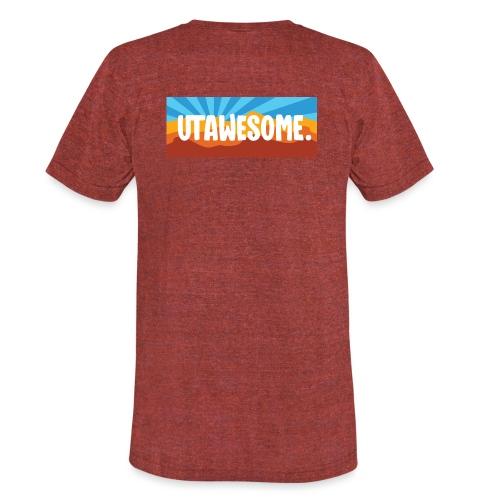 UTAWESOME Mural - Unisex Tri-Blend T-Shirt