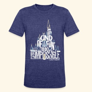 The Impossible - Unisex Tri-Blend T-Shirt by American Apparel