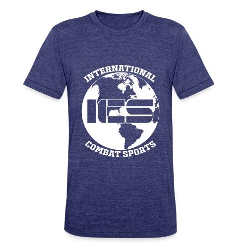 ICS Logo Blue - Unisex Tri-Blend T-Shirt