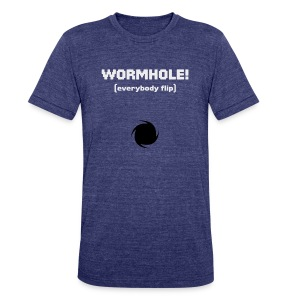 Spaceteam Wormhole! - Unisex Tri-Blend T-Shirt by American Apparel
