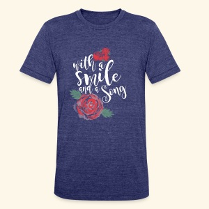 Snow White - Unisex Tri-Blend T-Shirt by American Apparel