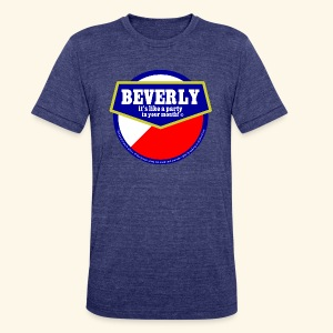 beverly - Unisex Tri-Blend T-Shirt by American Apparel