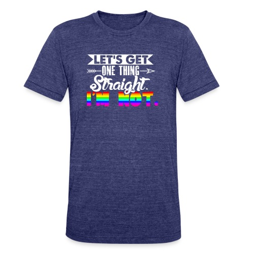 Proud to be gay - Unisex Tri-Blend T-Shirt