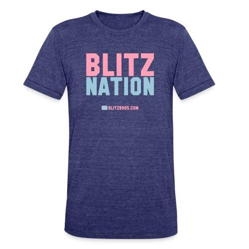 BLITZ NATION ... Ladies - Unisex Tri-Blend T-Shirt