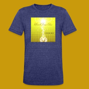 Miracle From Above - Unisex Tri-Blend T-Shirt by American Apparel