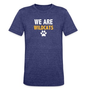 We Are Wildcats - Unisex Tri-Blend T-Shirt by American Apparel