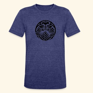 Tribal Tropic - Unisex Tri-Blend T-Shirt by American Apparel
