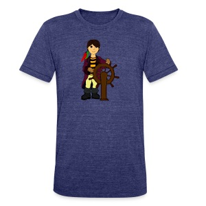Alex the Great - Pirate - Unisex Tri-Blend T-Shirt by American Apparel