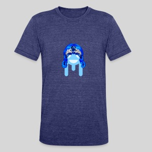 ALIENS WITH WIGS - #TeamMu - Unisex Tri-Blend T-Shirt by American Apparel