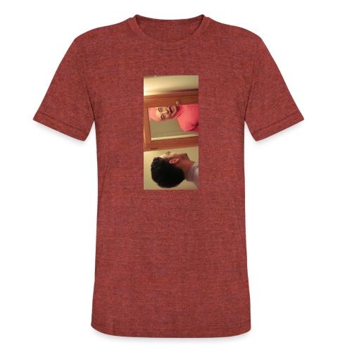 pinkiphone5 - Unisex Tri-Blend T-Shirt