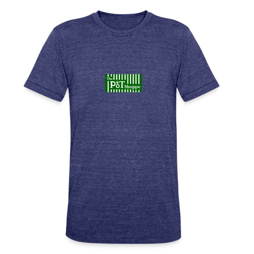 The Pot Shoppe Logo - Unisex Tri-Blend T-Shirt