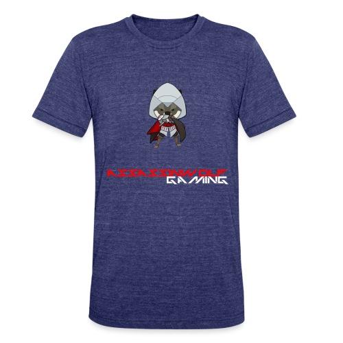 heather gray assassinwolf Tee - Unisex Tri-Blend T-Shirt