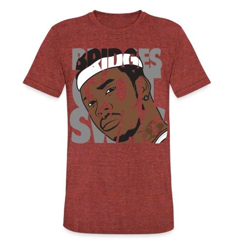 Men's Hoodie - #BridgesGotSwag - Unisex Tri-Blend T-Shirt