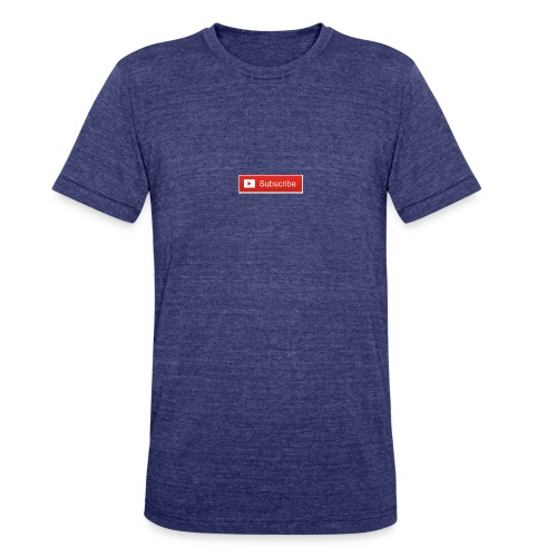 YOUTUBE SUBSCRIBE - Unisex Tri-Blend T-Shirt