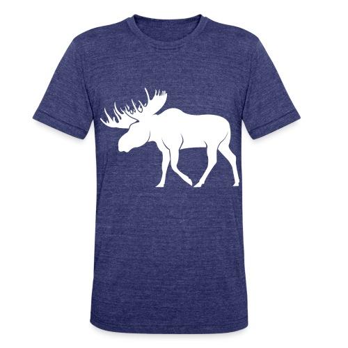 t shirt moose png - Unisex Tri-Blend T-Shirt