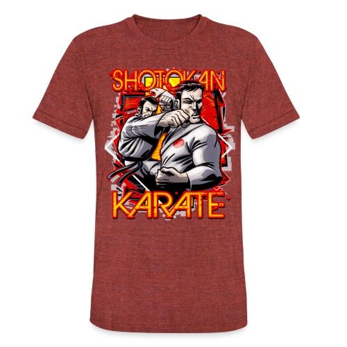 Shotokan Karate - Unisex Tri-Blend T-Shirt