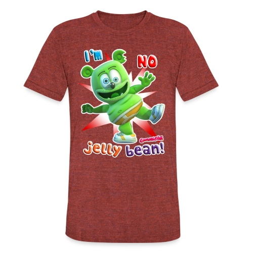 I'm No Jelly Bean - Unisex Tri-Blend T-Shirt