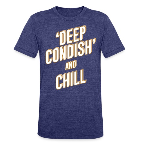 CONDISH tan png - Unisex Tri-Blend T-Shirt