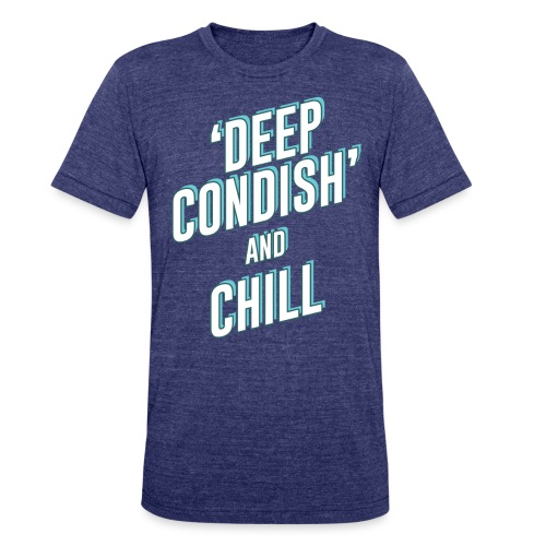CONDISH blue png - Unisex Tri-Blend T-Shirt