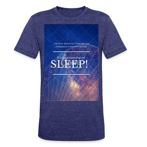 Sleep Galaxy by @lovesaccessories - Unisex Tri-Blend T-Shirt