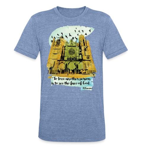 El camino - Unisex Tri-Blend T-Shirt