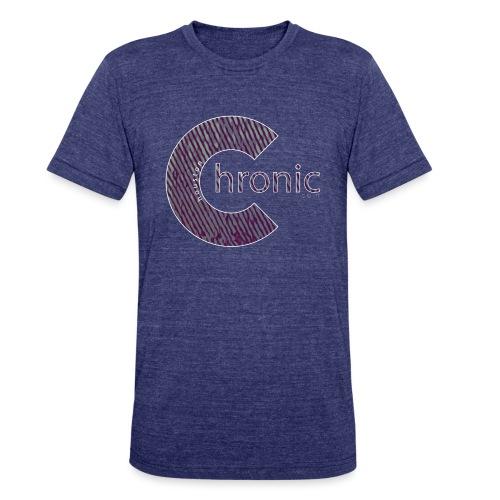 Houston Chronic - Legacy ( White Outline ) - Unisex Tri-Blend T-Shirt