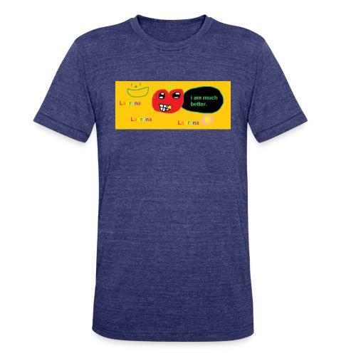 pechy vs apple - Unisex Tri-Blend T-Shirt
