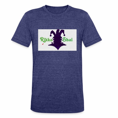 Rikka Shai Electric Logo - Unisex Tri-Blend T-Shirt