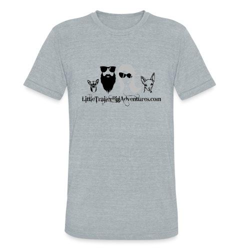 LTBA Heads Logo - Unisex Tri-Blend T-Shirt