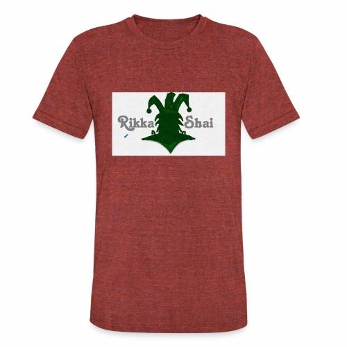 Rikka Shai LOCO LOGO - Unisex Tri-Blend T-Shirt