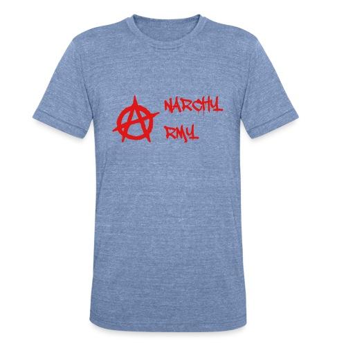 Anarchy Army LOGO - Unisex Tri-Blend T-Shirt