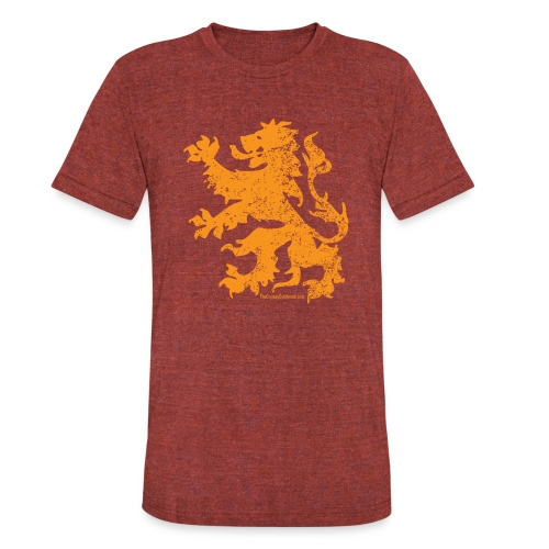 Dutch Lion - Unisex Tri-Blend T-Shirt