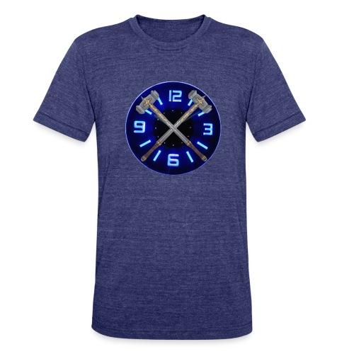 Hammer Time T-Shirt- Steel Blue - Unisex Tri-Blend T-Shirt