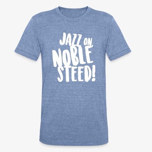 MSS Jazz on Noble Steed - Unisex Tri-Blend T-Shirt
