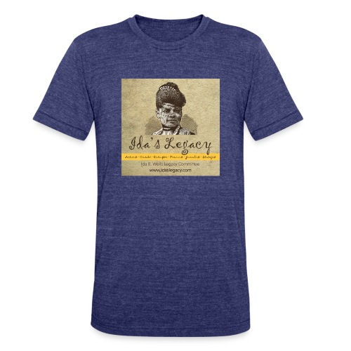 Ida's Legacy Full Color Art - Unisex Tri-Blend T-Shirt
