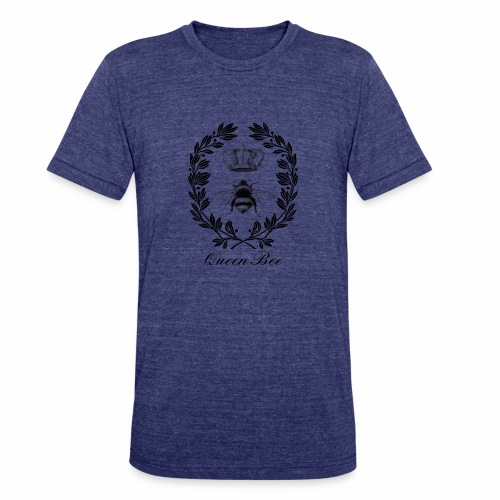 Vintage Queen Bee - Unisex Tri-Blend T-Shirt