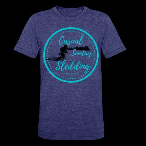 CSS Sledder - Unisex Tri-Blend T-Shirt