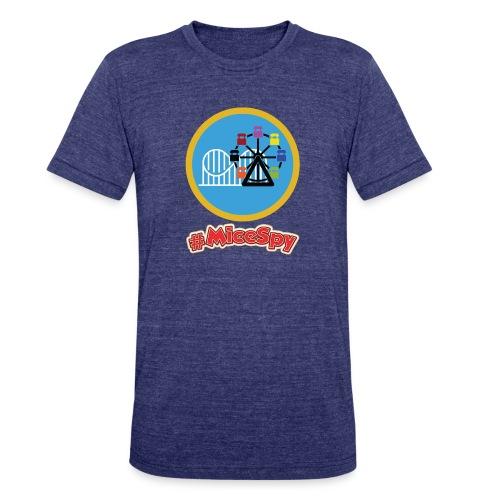 Paradise Pier Explorer Badge - Unisex Tri-Blend T-Shirt