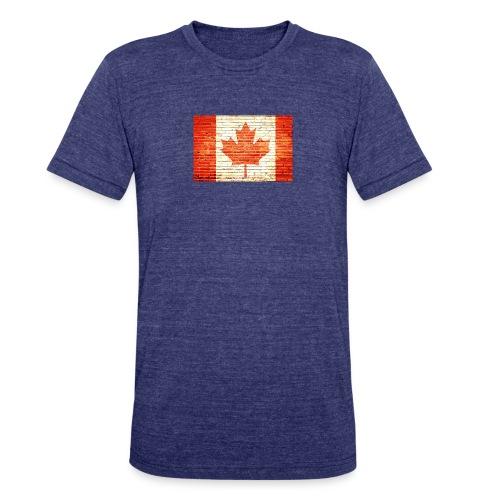 Canada flag - Unisex Tri-Blend T-Shirt